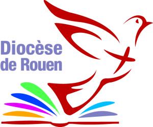 Logo du diocèse de Rouen