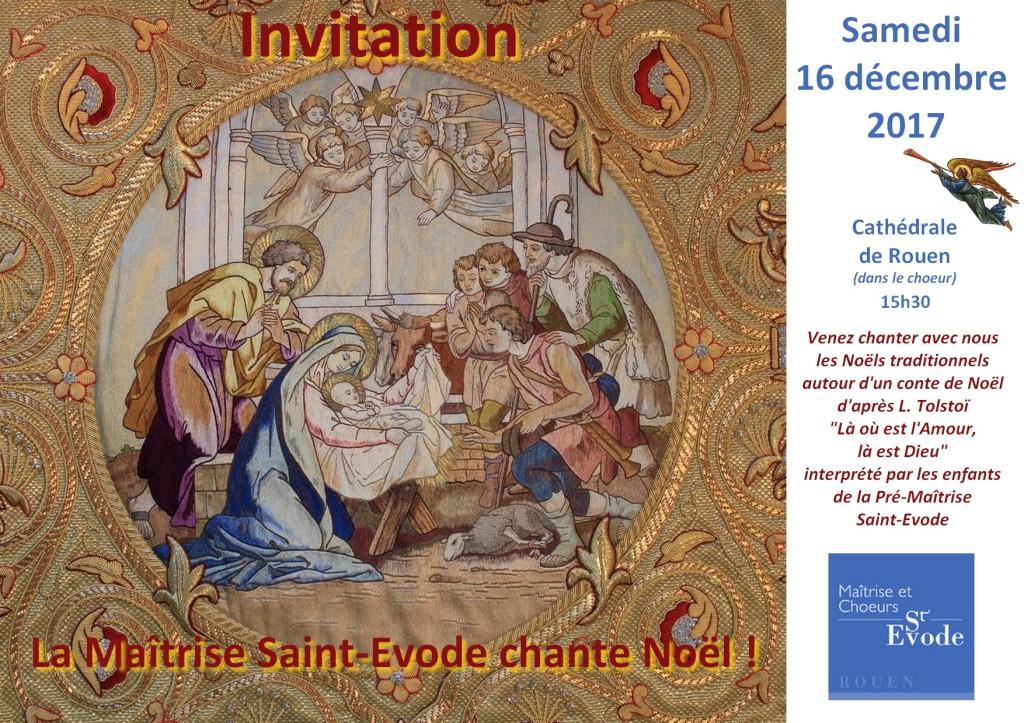 Invitation conte Noel 2017