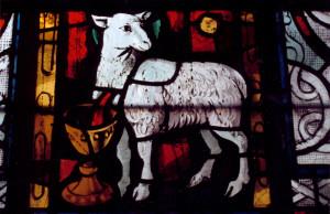 l'agneau mystique, chapelle du St Sacrement copie